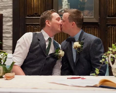 Vintage themed Civil Partnership