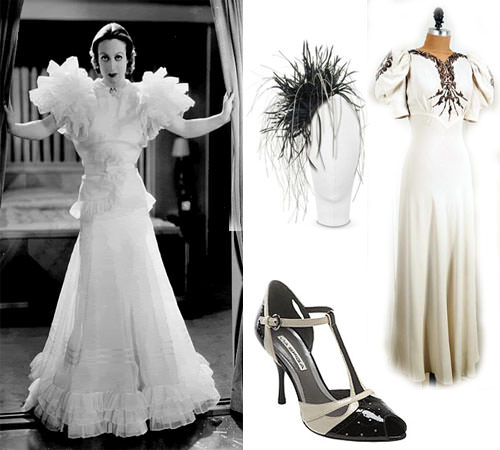 Bridal Style Going Vintage 30 S Inspired Styling That