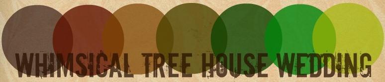 tree house wedding