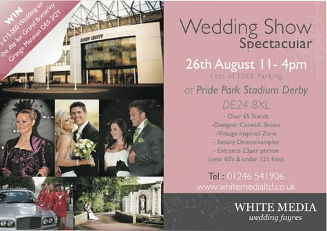 pride park wedding exhibition