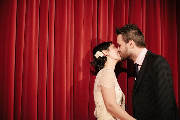 Cinema wedding