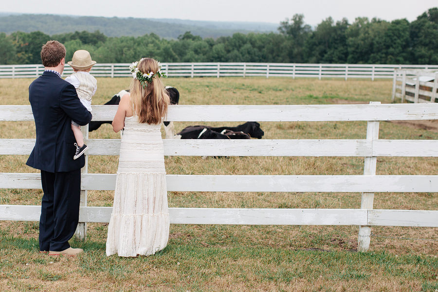 Homemade Farm Wedding