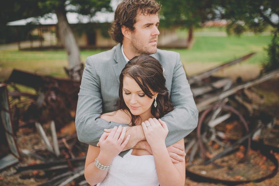 Australian outdoor wedding