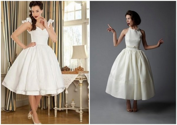 Bridal Style: 50s Style Wedding Dresses | Boho Weddings For the ...