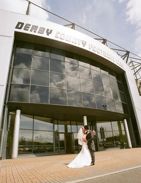 pride park wedding exibition