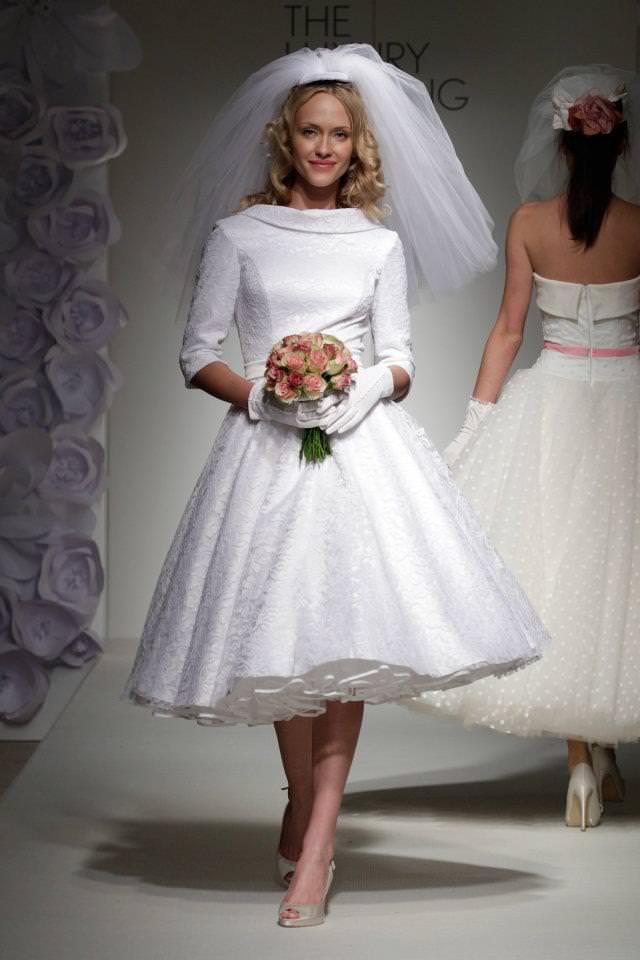 50s Style Wedding Dress By Boho