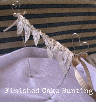 DIY Cake Bunting