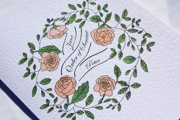 Rose and Leaf
