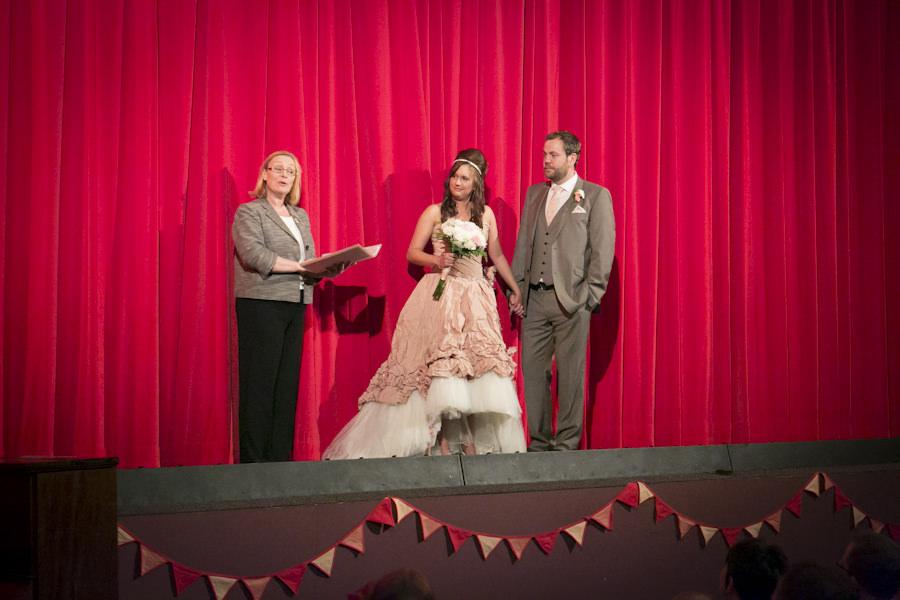 cinema wedding