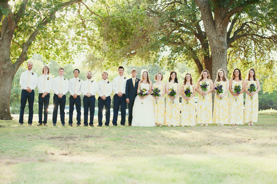 Emily and David's Beautiful Sunlit Texan Wedding by Anne Brookshire