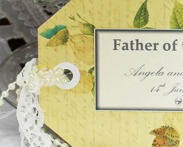 Birds and Butterflies Name place card