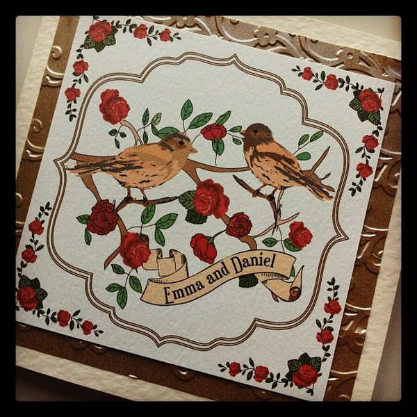 Paper Delights - Love Birds