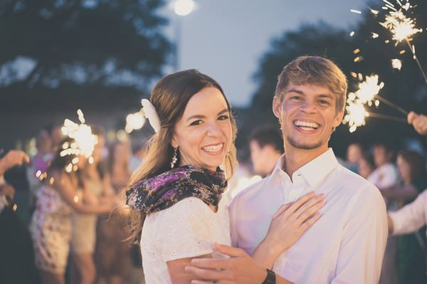Wedding at night time
