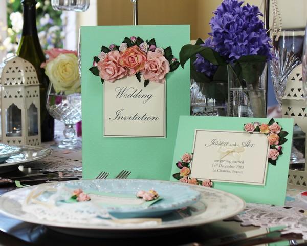 Vintage Invitations -  Spring Romance