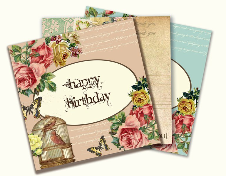 Group Of Knots & Kisses Greetings Cards