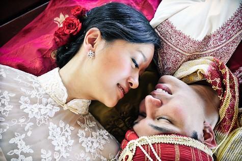 Indian, Chinese, Catholic Wedding