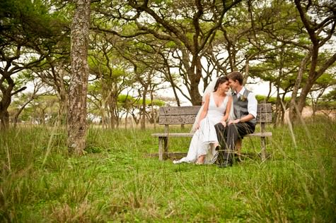 Rustic South African wedding