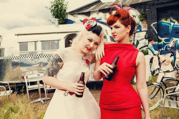 Vintage Salon Hair and Makeup by Assassynation