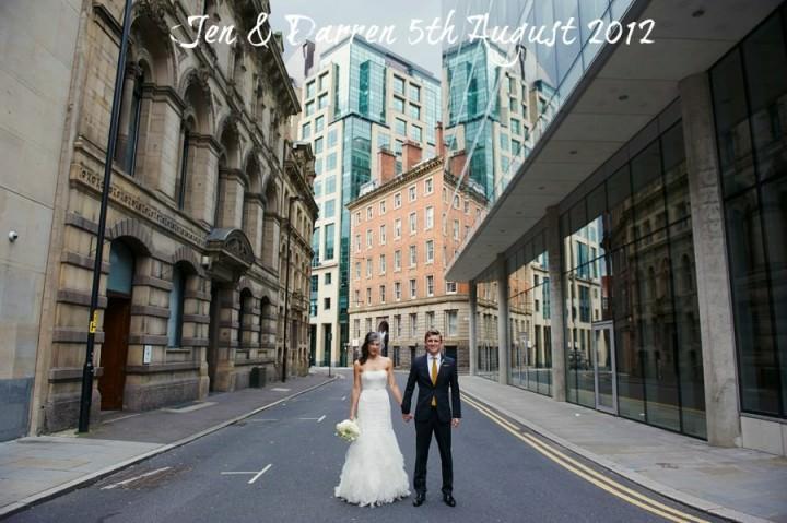 Modern Manchester Wedding