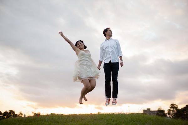 May & Kelvin's Sydney engagement shoot