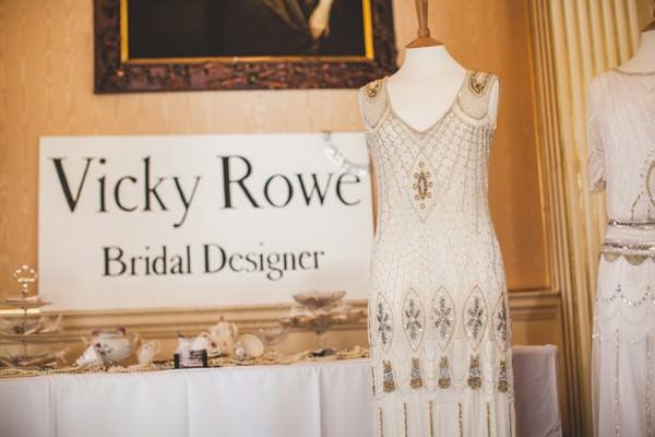 Vicky Rowe bridal designer