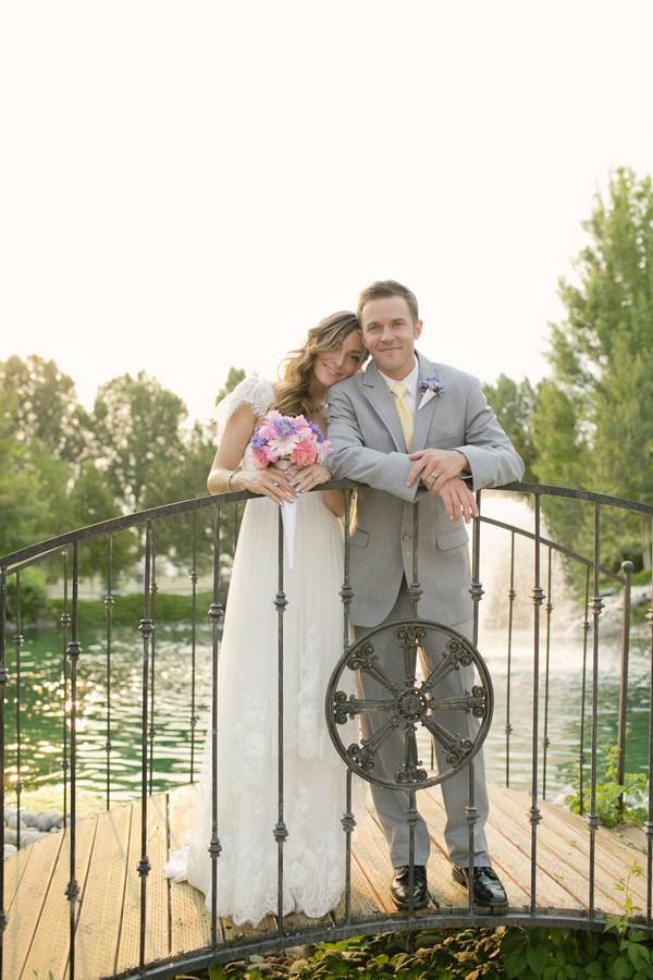 Montana Wedding Couple