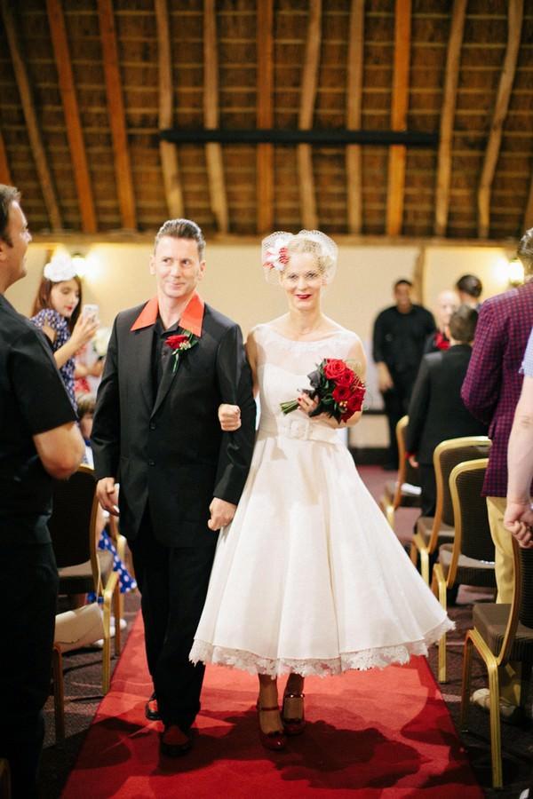 Rockabilly Wedding ceremony
