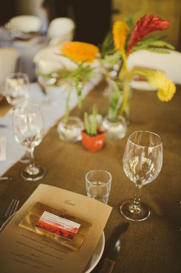 Utah wedding recpetion