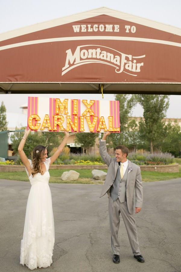 Montana Fun Fair Wedding Reception
