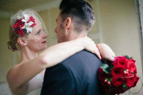 Rockabilly Wedding Couple