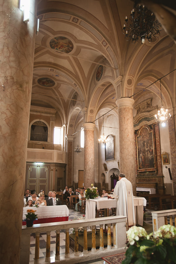 Italian church blessing