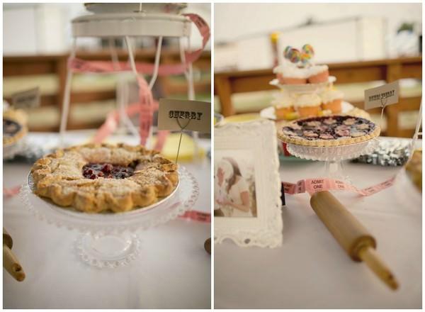 table of pie