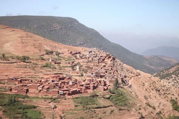 Atlas Mountains in Marrakesh
