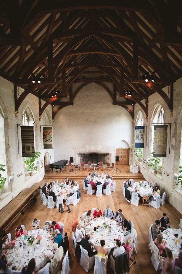 Dartington Hall wedding breakfast