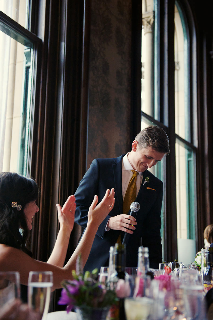 wedding speeches at a Manchester wedding