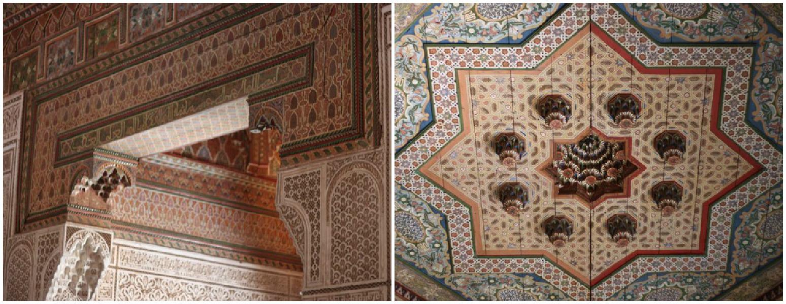 Bahia Palace in Marrakesh