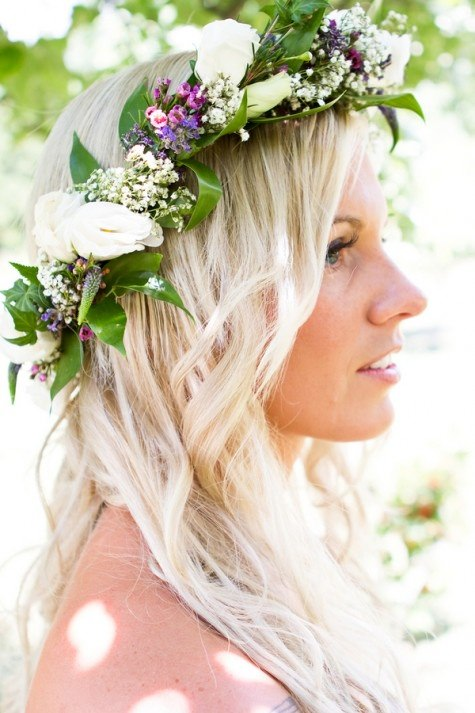 Bridal Style  Flower Crowns 4464f0d5453