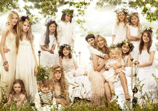 Kate Moss wedding photo