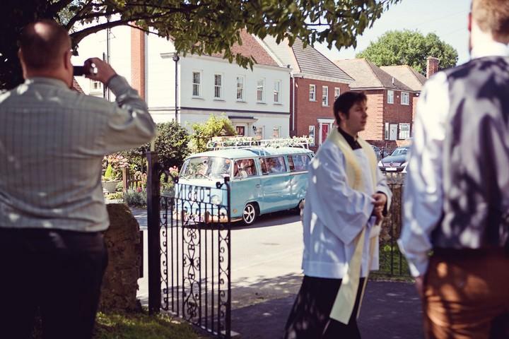 wedding ceremony at St. Michael's Church,Essex