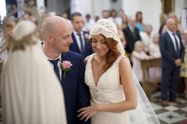 wedding ceremony at San Carlos Church, Ibiza