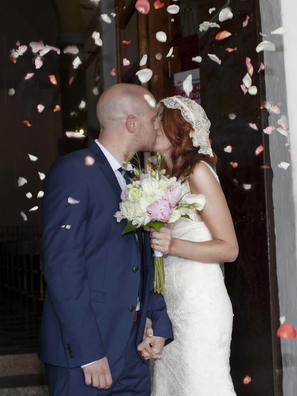 wedding ceremony at San Carlos Church, Ibiza