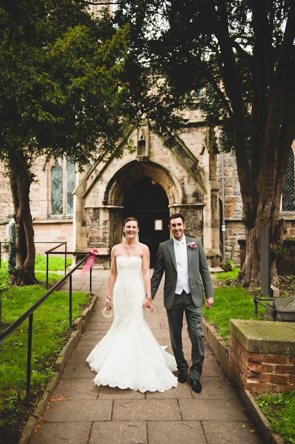 Hallows Church, Nottingham wedding ceremony