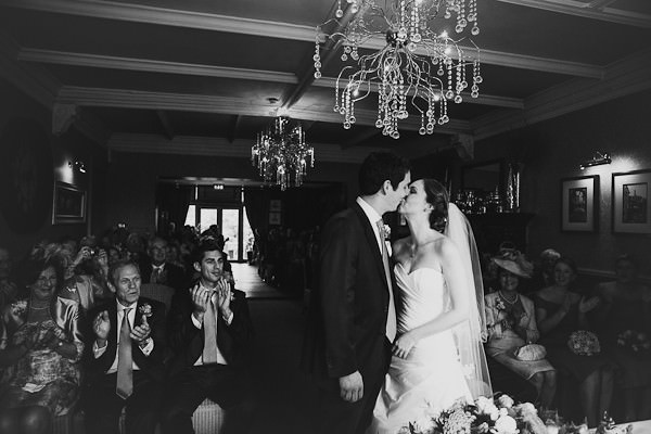 wedding ceremony at Mitton Hall, Clitheroe