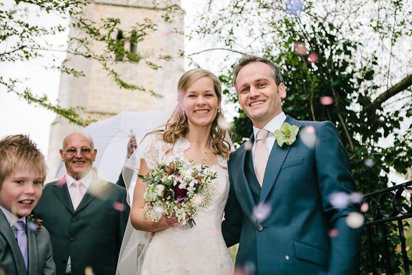 wedding ceremony at St Johns Church, Carlton-in-Lindrick, Nottinghamshire
