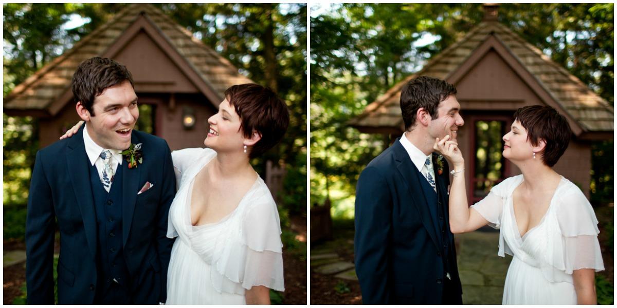 Ohio wedding couple