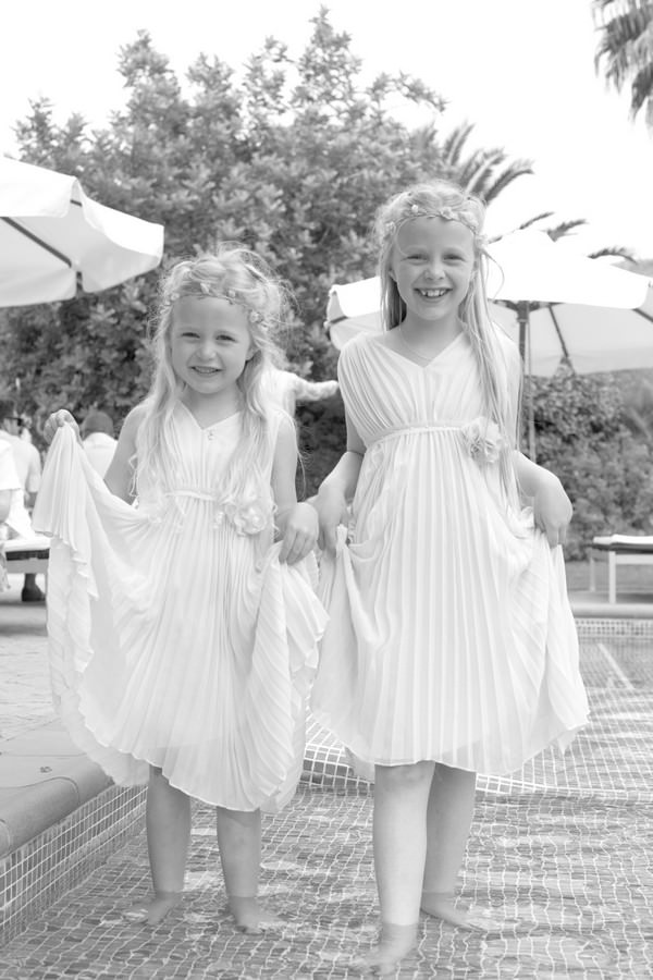 Ibiza flower girls
