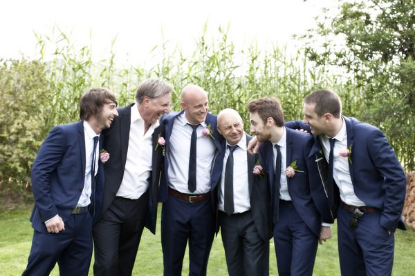 Ibiza groom and groomsmen
