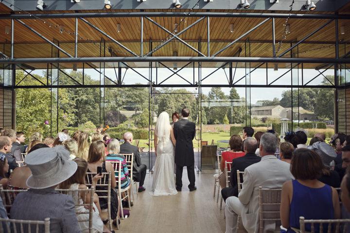 Utopia in Skipton wedding ceremony