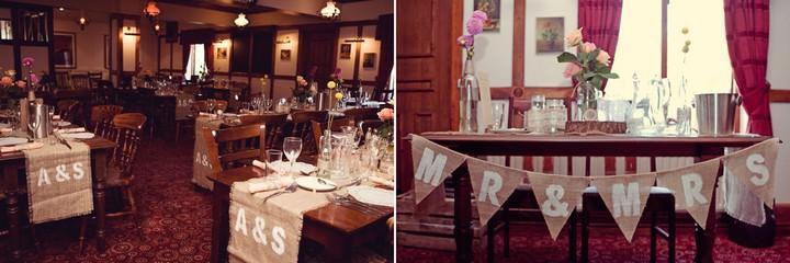 DIY wedding reception at Seabright's Barn, Chelmsford