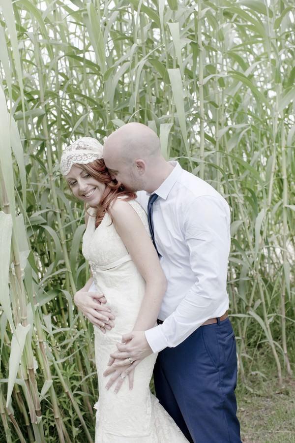 Ibiza bride and groom